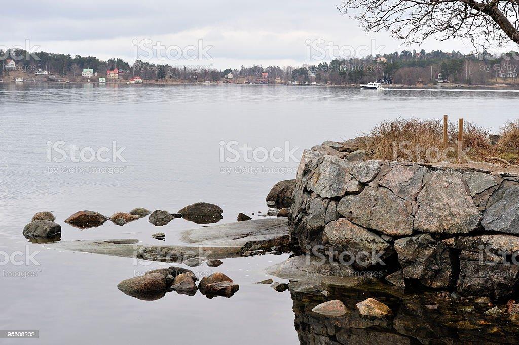 Swedish archipelago royalty-free stock photo