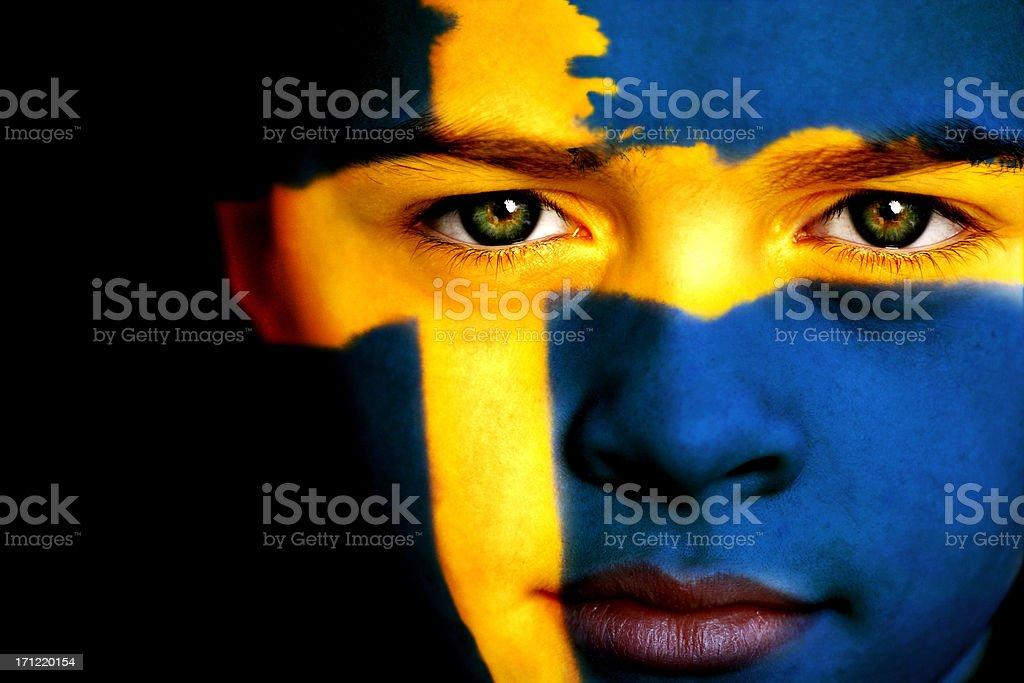 Swedish boy stock photo