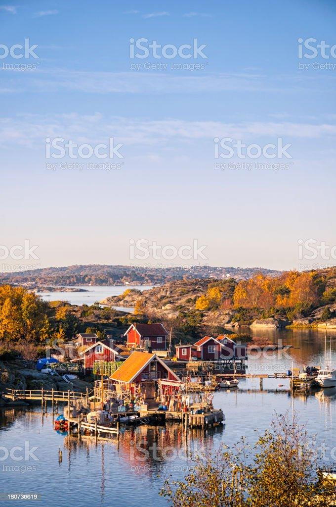 Swedish coast royalty-free stock photo