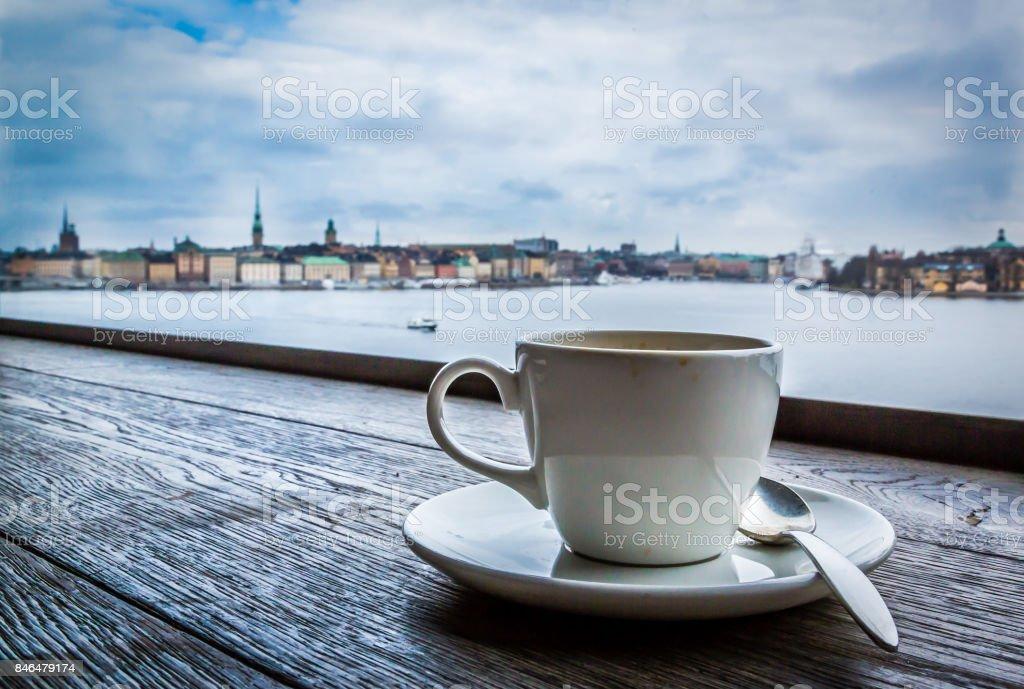 Swedish coffee break stock photo