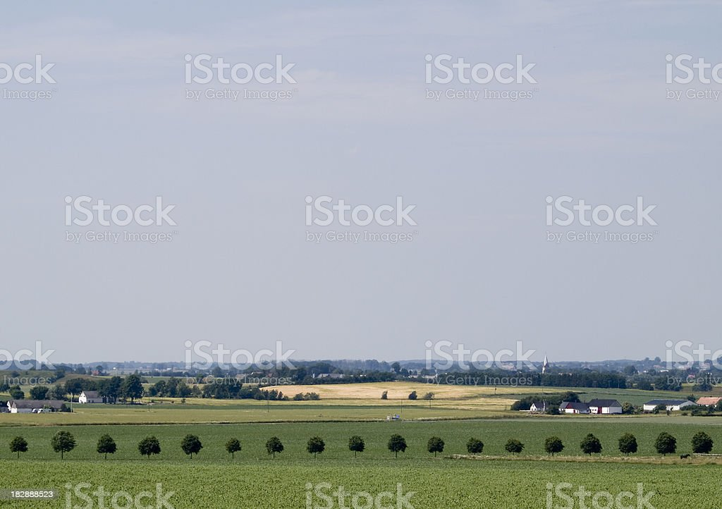 Swedish countryside royalty-free stock photo