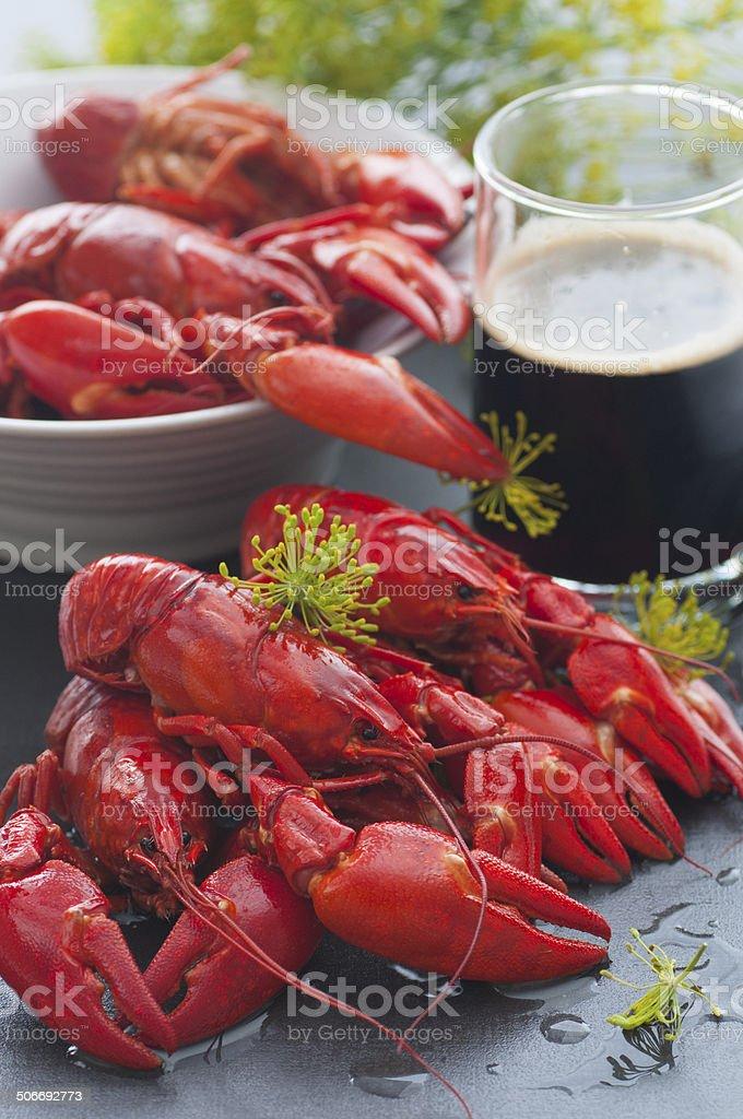 Swedish Crayfish bildbanksfoto