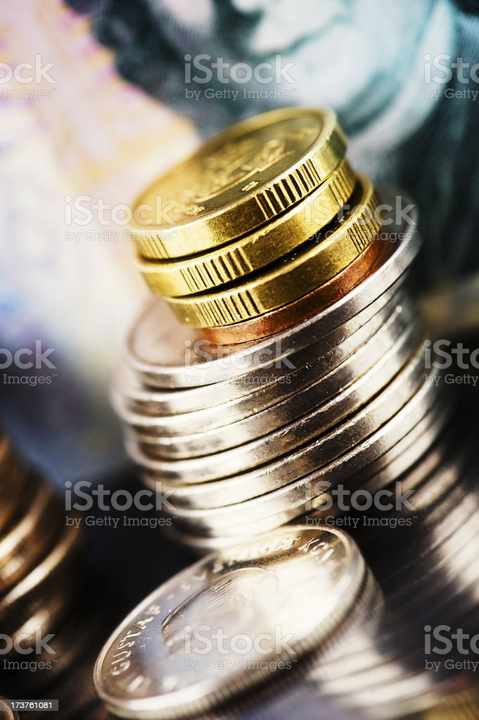 Swedish currency royalty-free stock photo