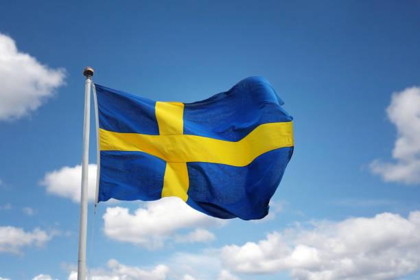 flaga szwecji  - szwecja zdjęcia i obrazy z banku zdjęć