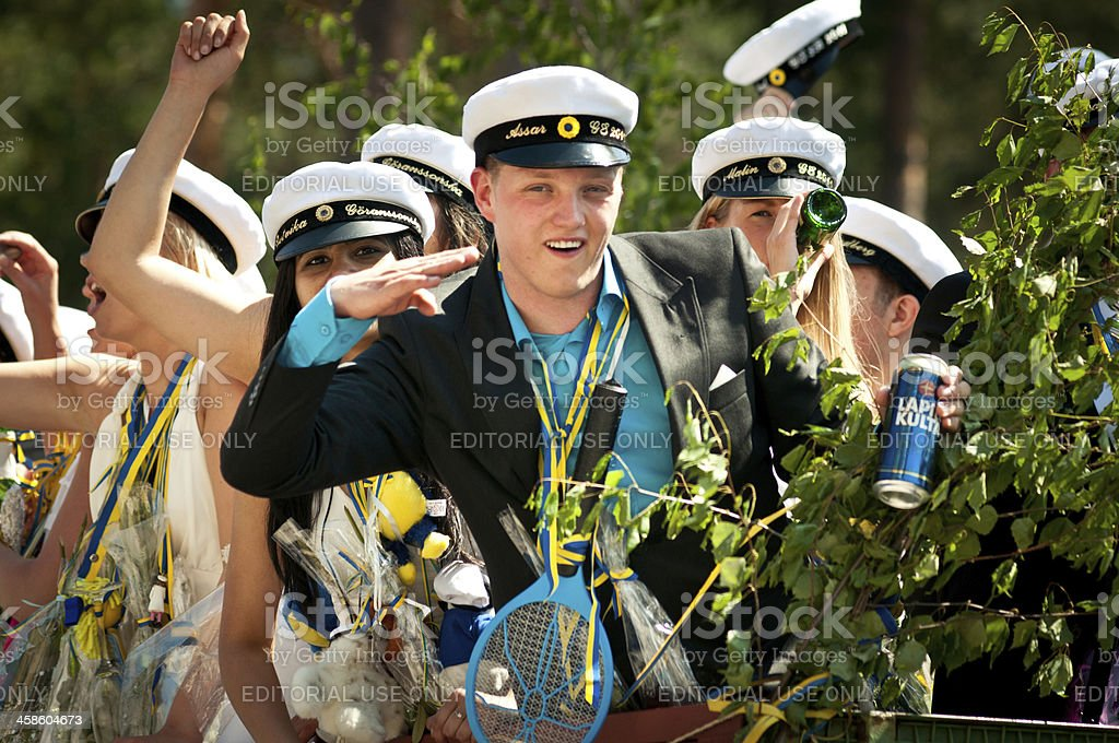 Schwedische high-school-Abschluss – Foto