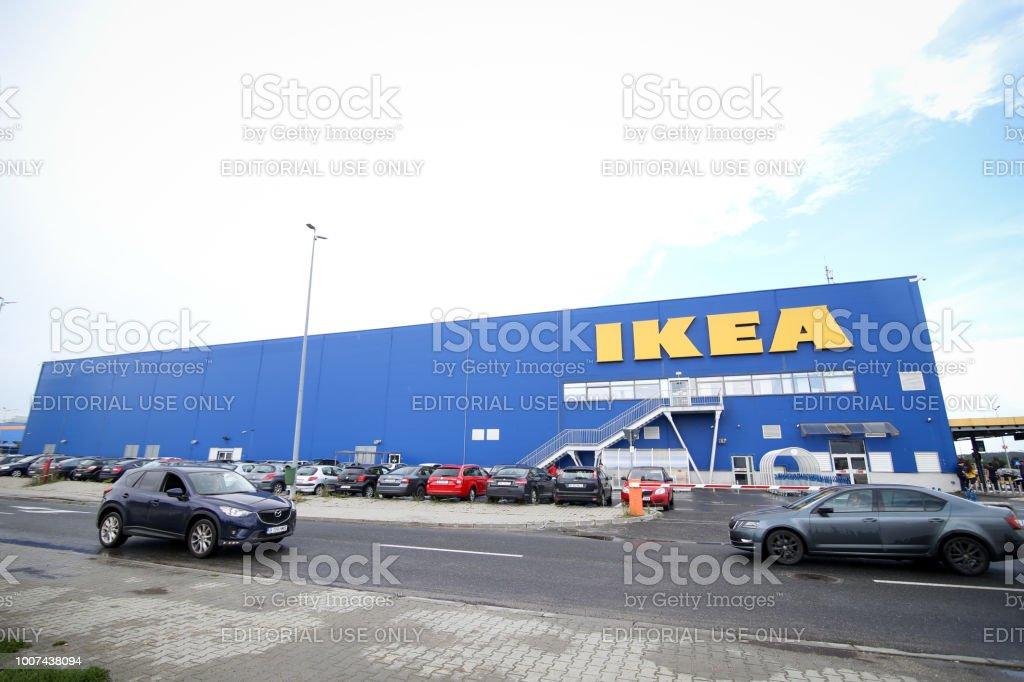 Schwedische Ikea Einrichtungshaus Im Nordlichen Teil Von Bukarest