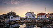 istock Swedish Island summer homes 1079283288