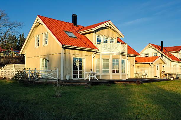 Schwedische middle class zu Hause – Foto