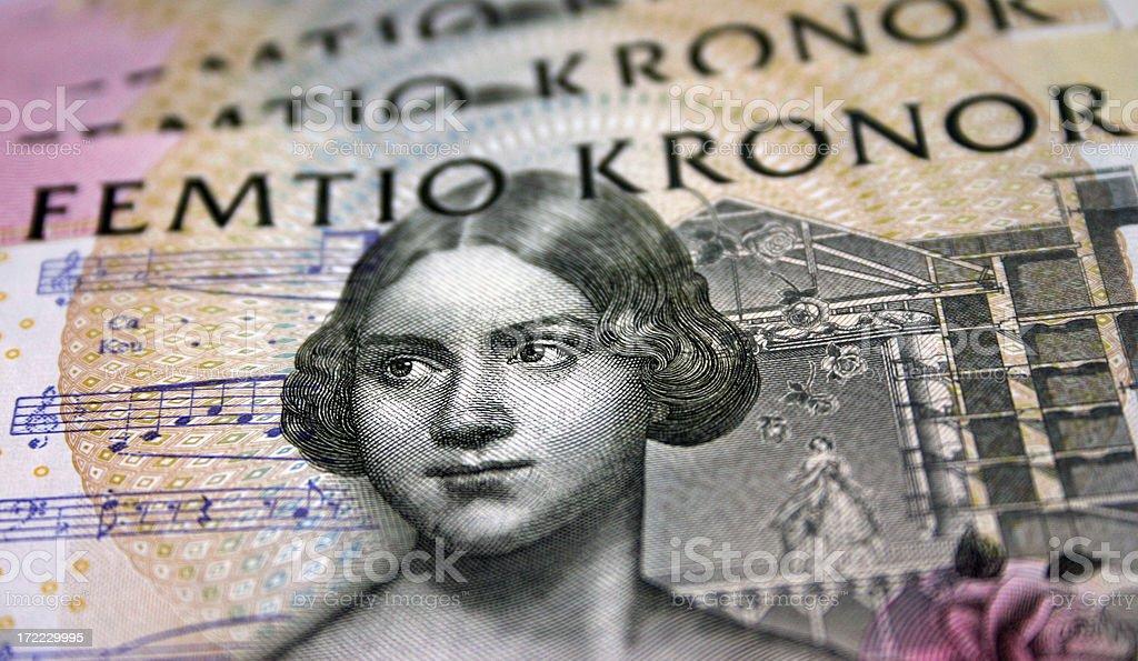 Swedish Money #2 stock photo