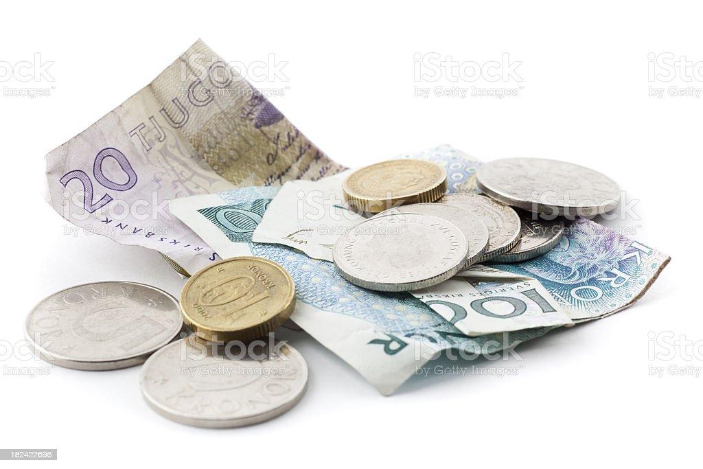 Swedish money royalty-free stock photo
