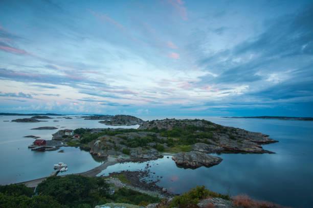 Schwedische Marine an der Grenze zu Norwegen – Foto