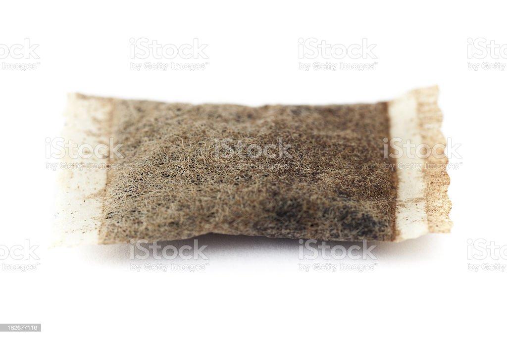 Swedish snus macro isolated stock photo
