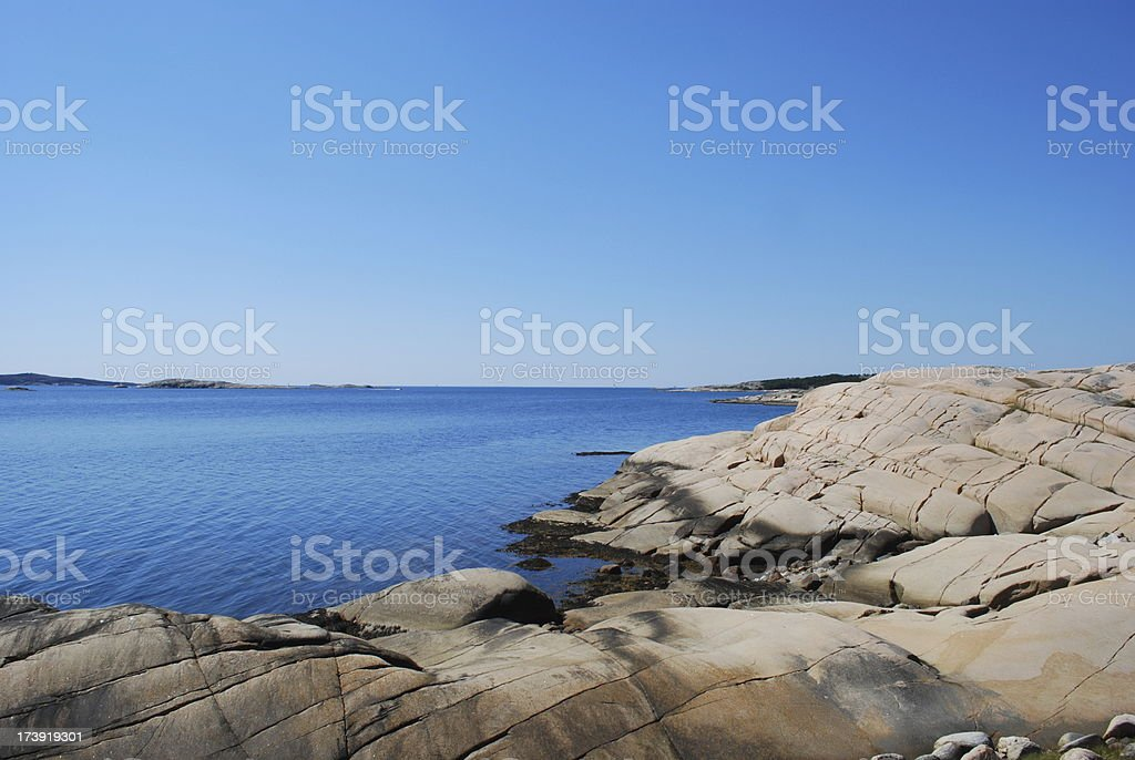 Swedish summer holiday royalty-free stock photo