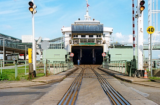 Swedish Train Ferry Stock Photo - Download Image Now