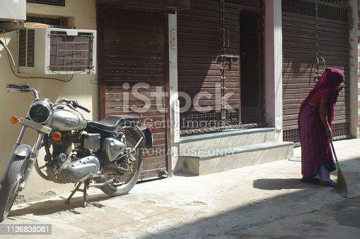 istock Sweep Street 1136838081