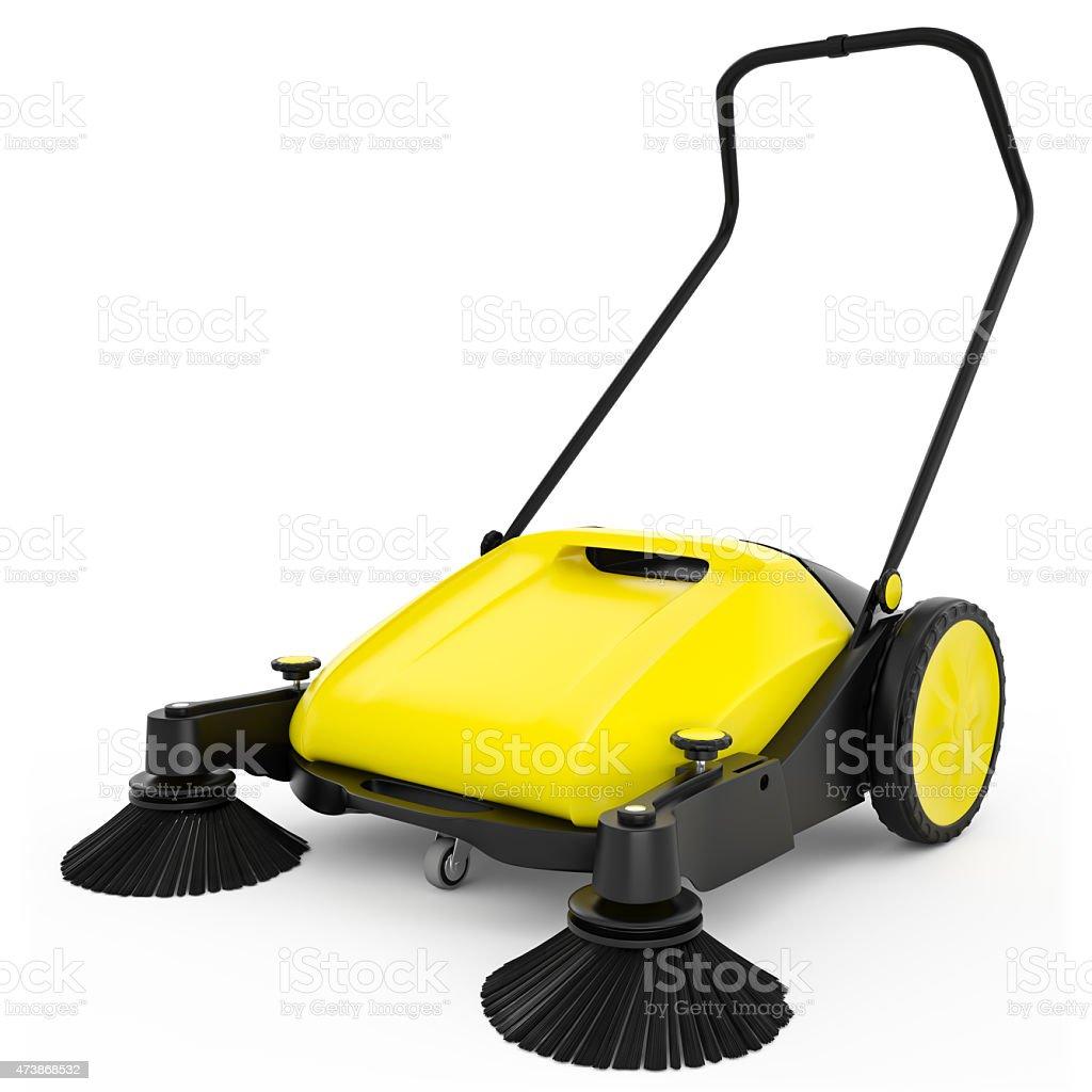 Sweeper stock photo