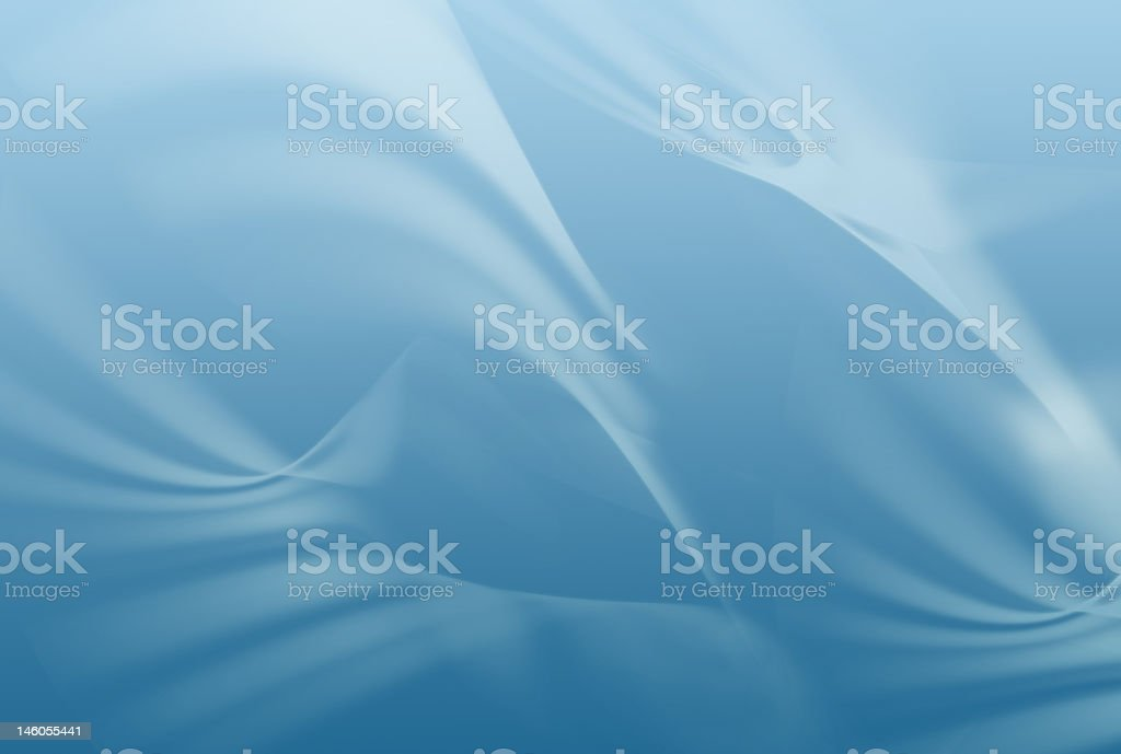Sweeping Blue Depths royalty-free stock photo
