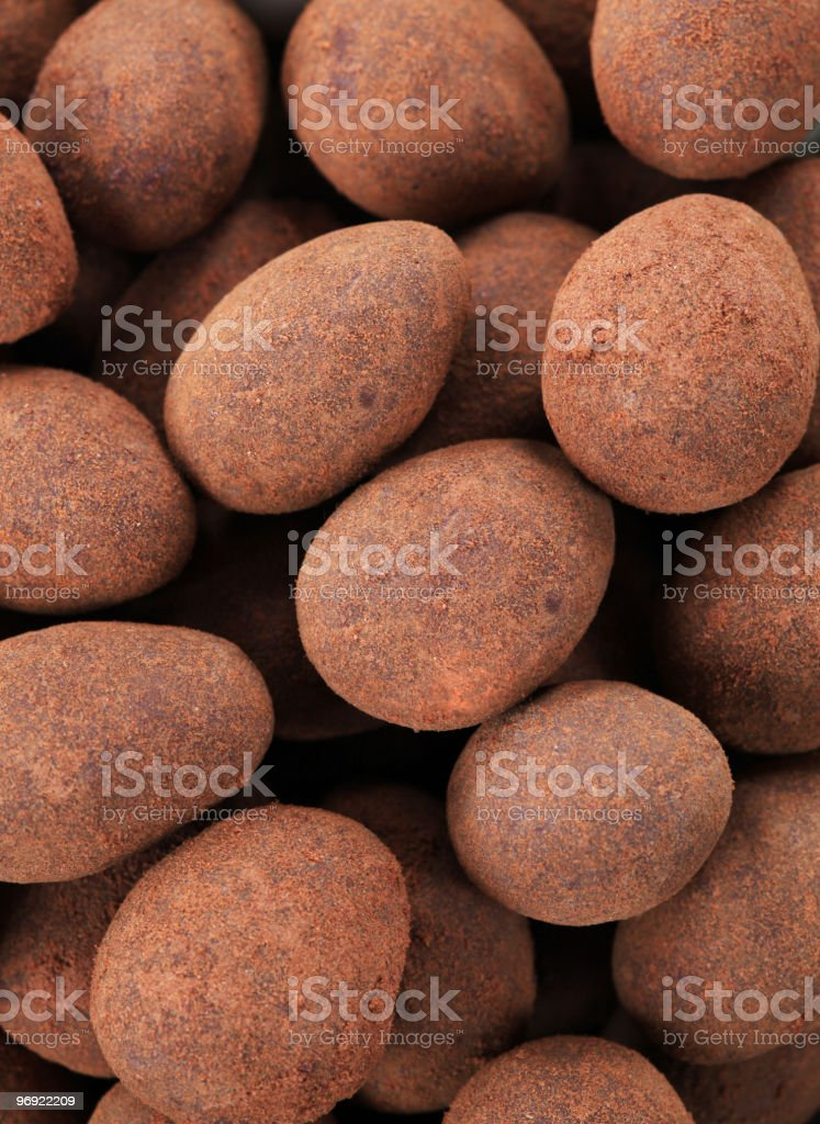 Sweet almonds royalty-free stock photo