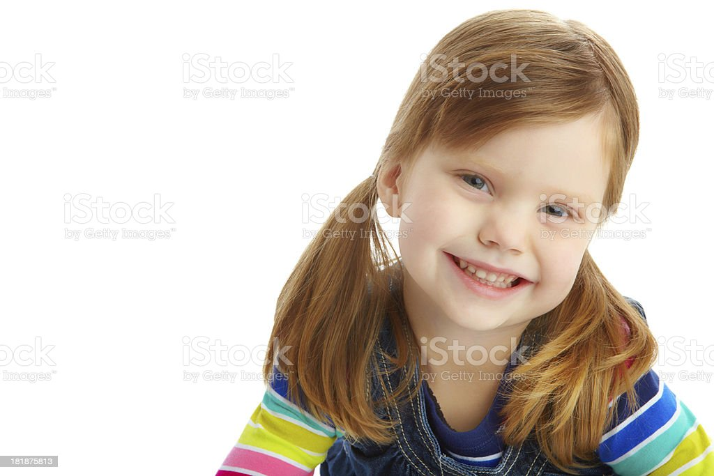 Sweet and carefree royalty-free stock photo