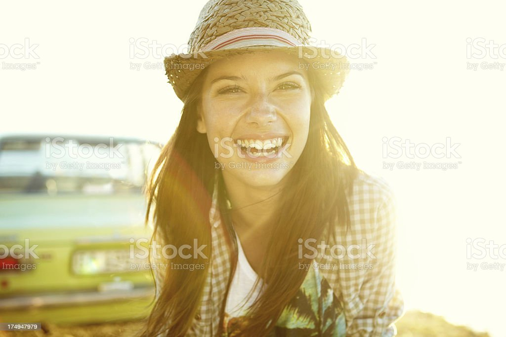 Sweet and casual summer style stock photo