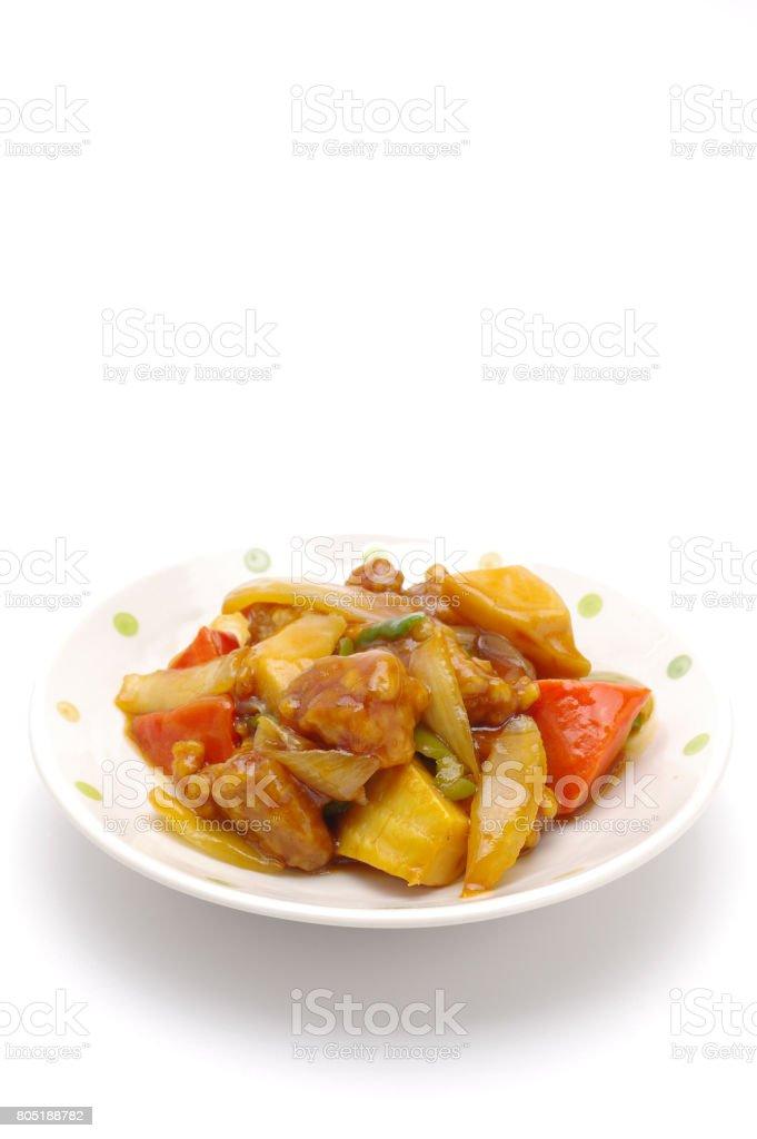 酢豚 ストックフォト