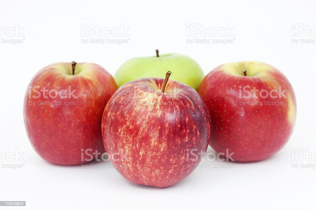 Sweet apples royalty-free stock photo