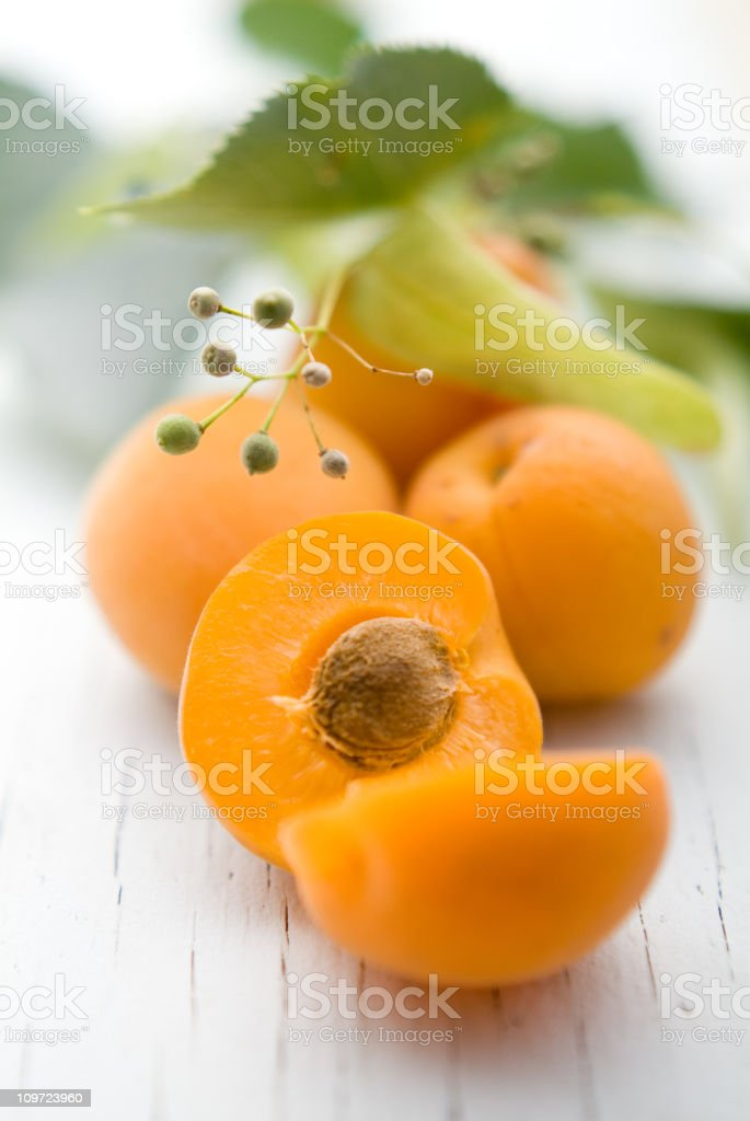 Sweet Apricots royalty-free stock photo