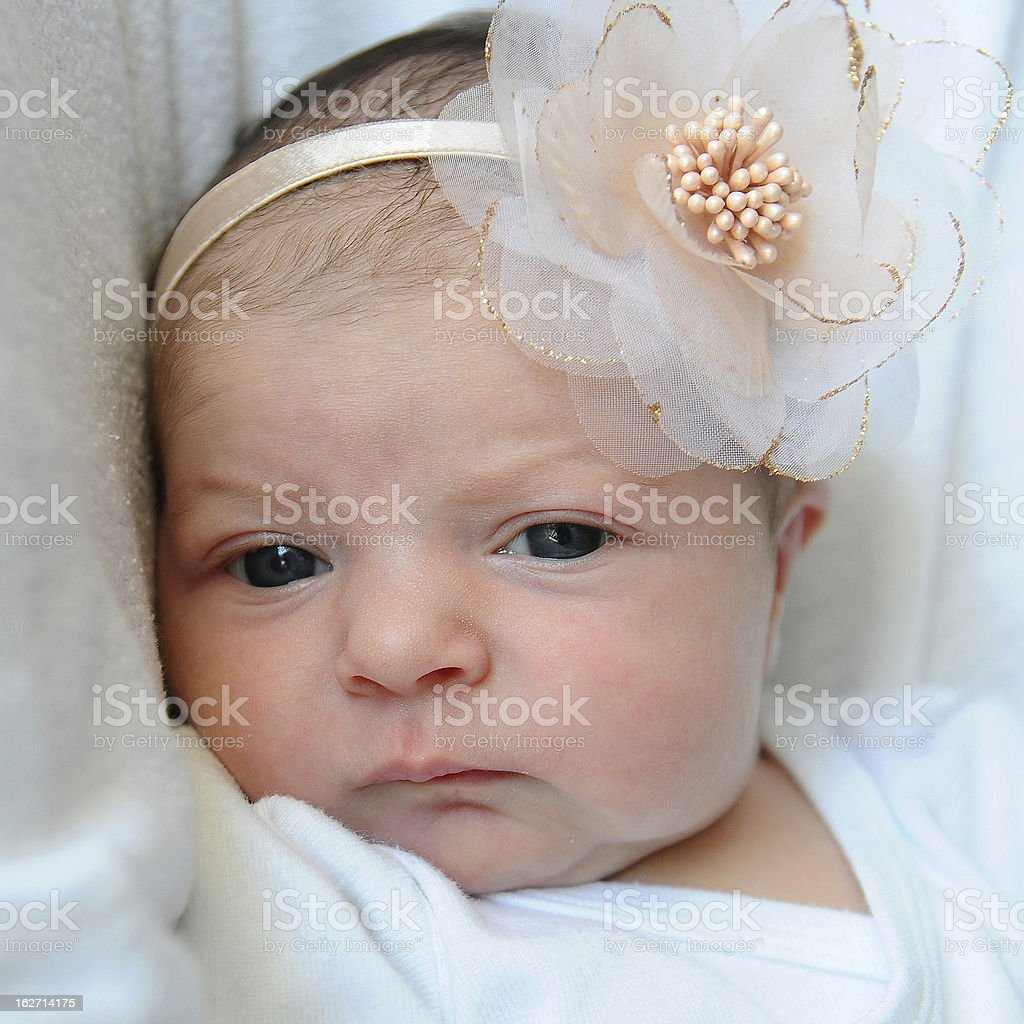 Sweet baby girl royalty-free stock photo