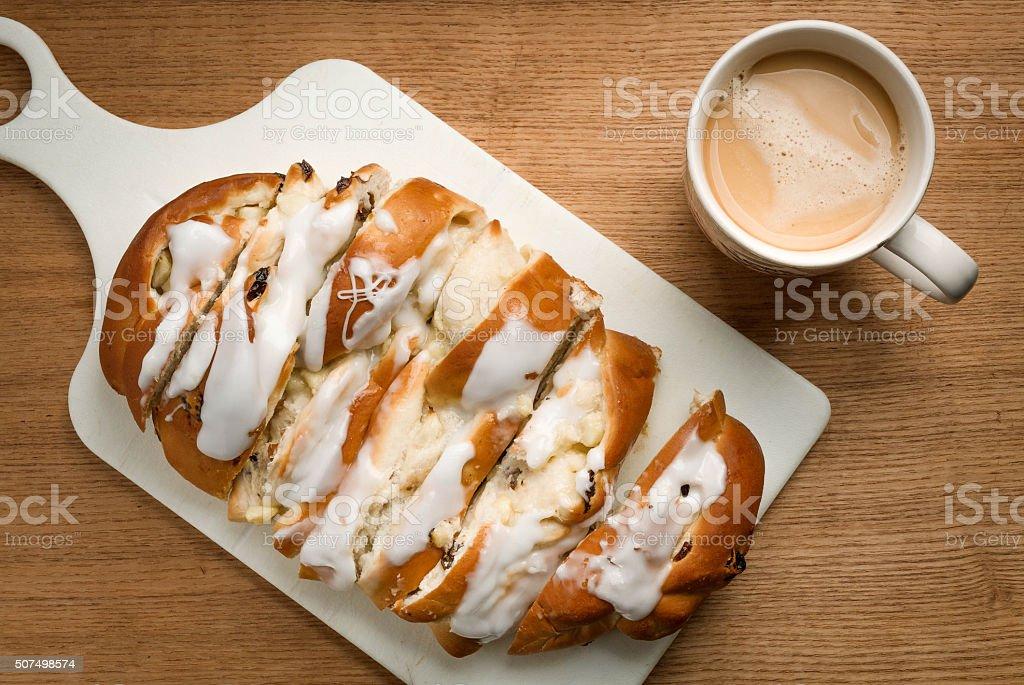 Dolci Panetteria Pane Per La Prima Colazione Latte Caffe Sfondo In Legno Fotografie Stock E Altre Immagini Di Alimentazione Sana Istock