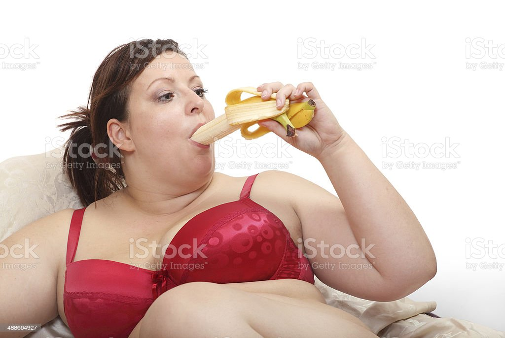 Sweet banana. stock photo