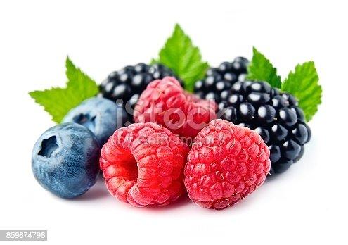 istock Sweet berries mix 859674796