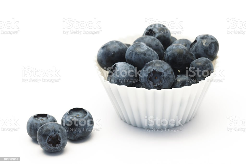 Sweet Blueberries royalty-free stock photo