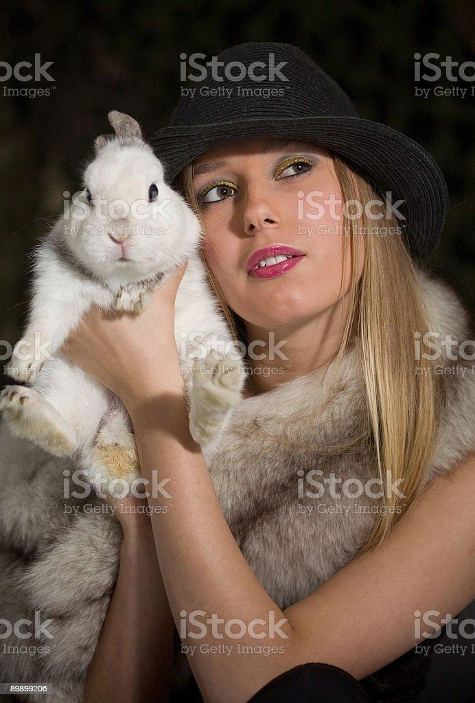 Bunnys dulce foto de stock libre de derechos