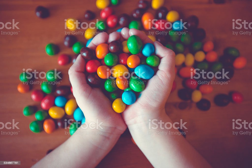 Sweet candy stock photo