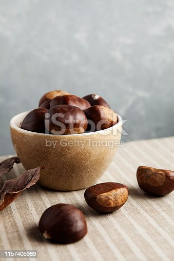 Autumn, Chestnut - Food, Food, Fruit, Raw Food,Chestnut Tree, Sweet Food, Winter