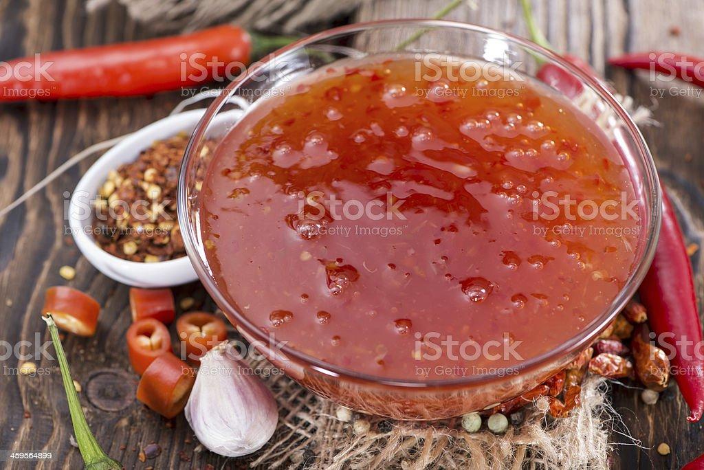 Sweet Chili Sauce stock photo