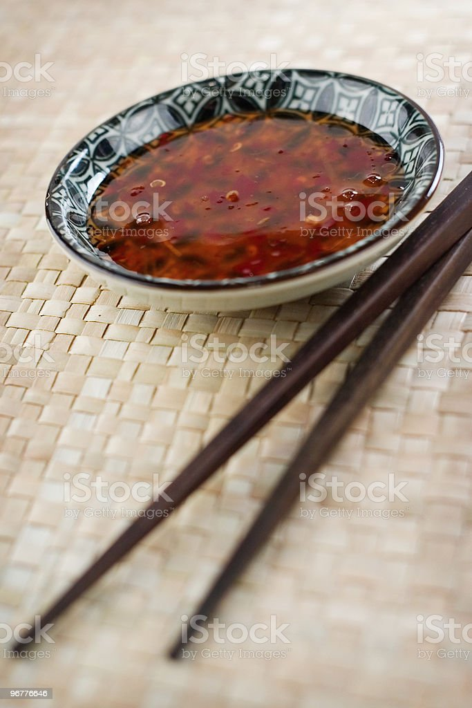 Sweet Chili Sauce royalty-free stock photo