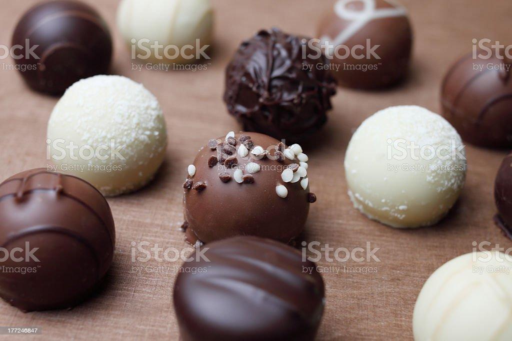 sweet chocolate royalty-free stock photo