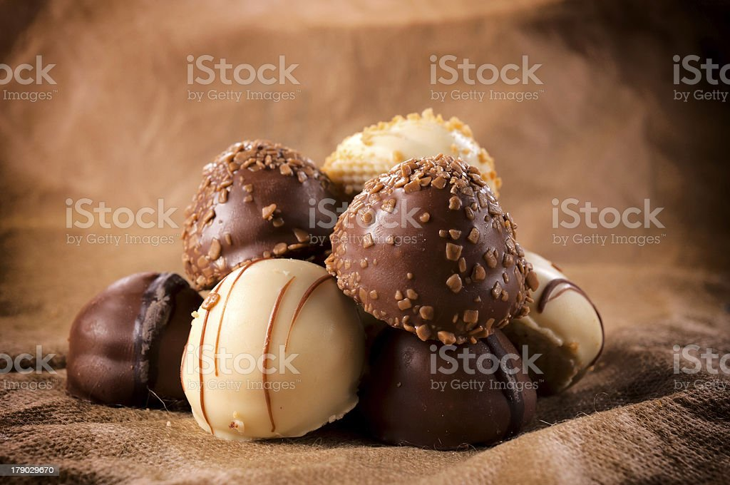 Sweet chocolate stock photo