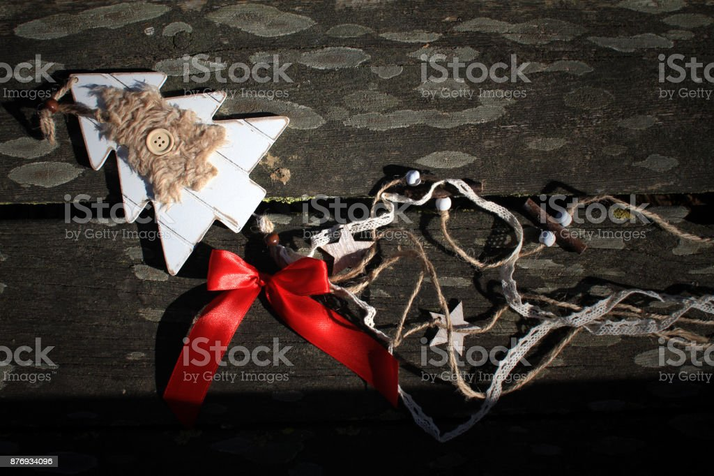 sweet christmas decoration stock photo