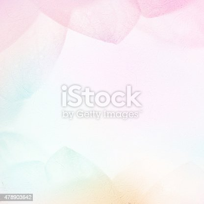 istock sweet color petals in soft style on mulberry paper texture 478903642
