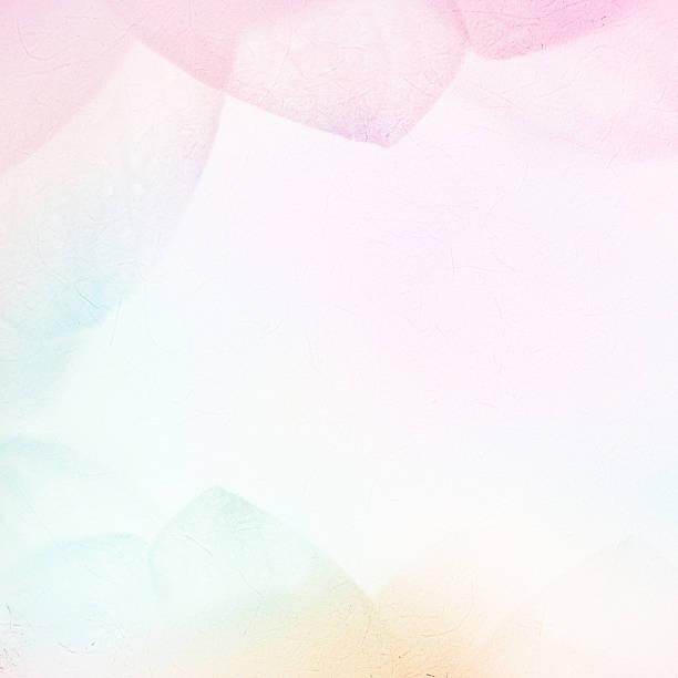 Süße Farben auf weichen Blütenblätter Stil auf mulberry Papier Textur – Foto
