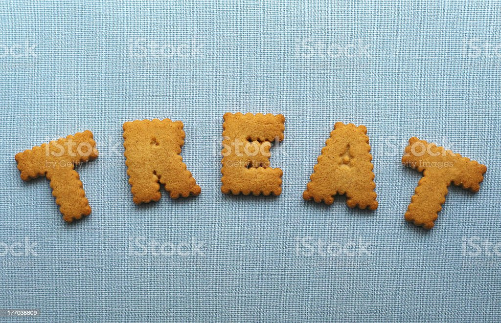 Sweet cookie treat royalty-free stock photo