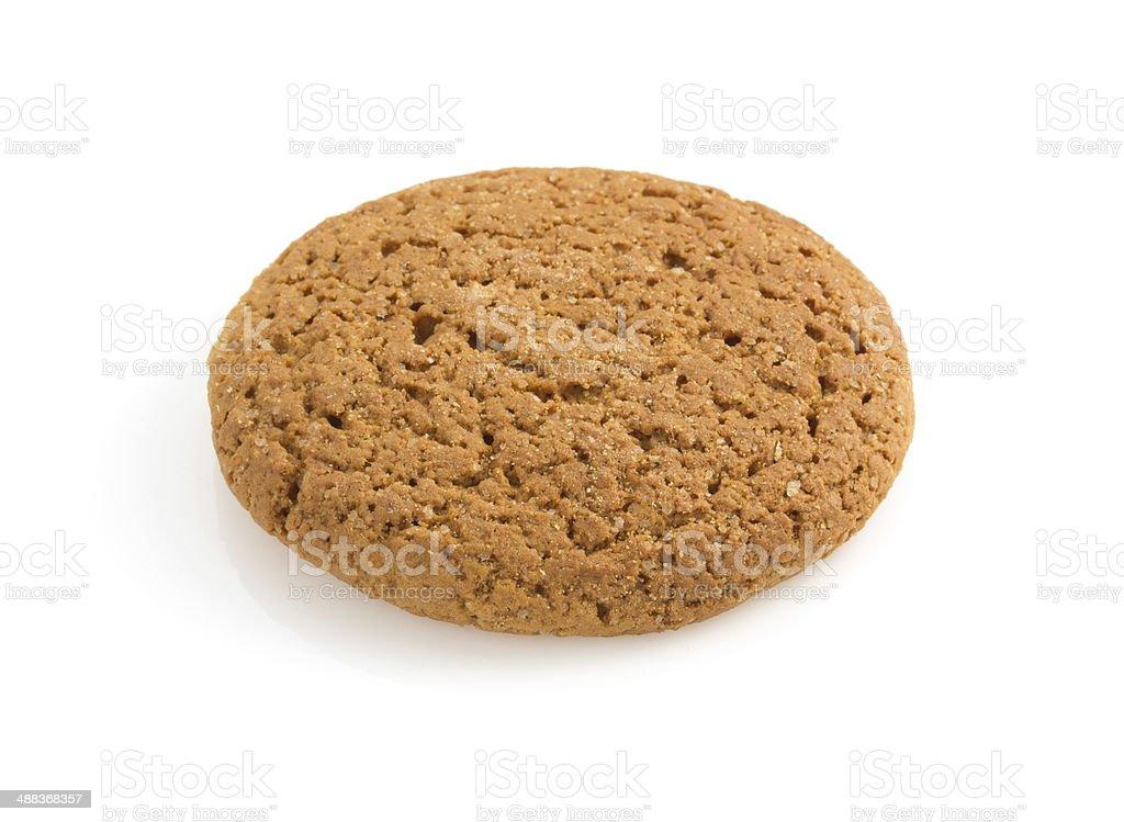 sweet cookies on white stock photo