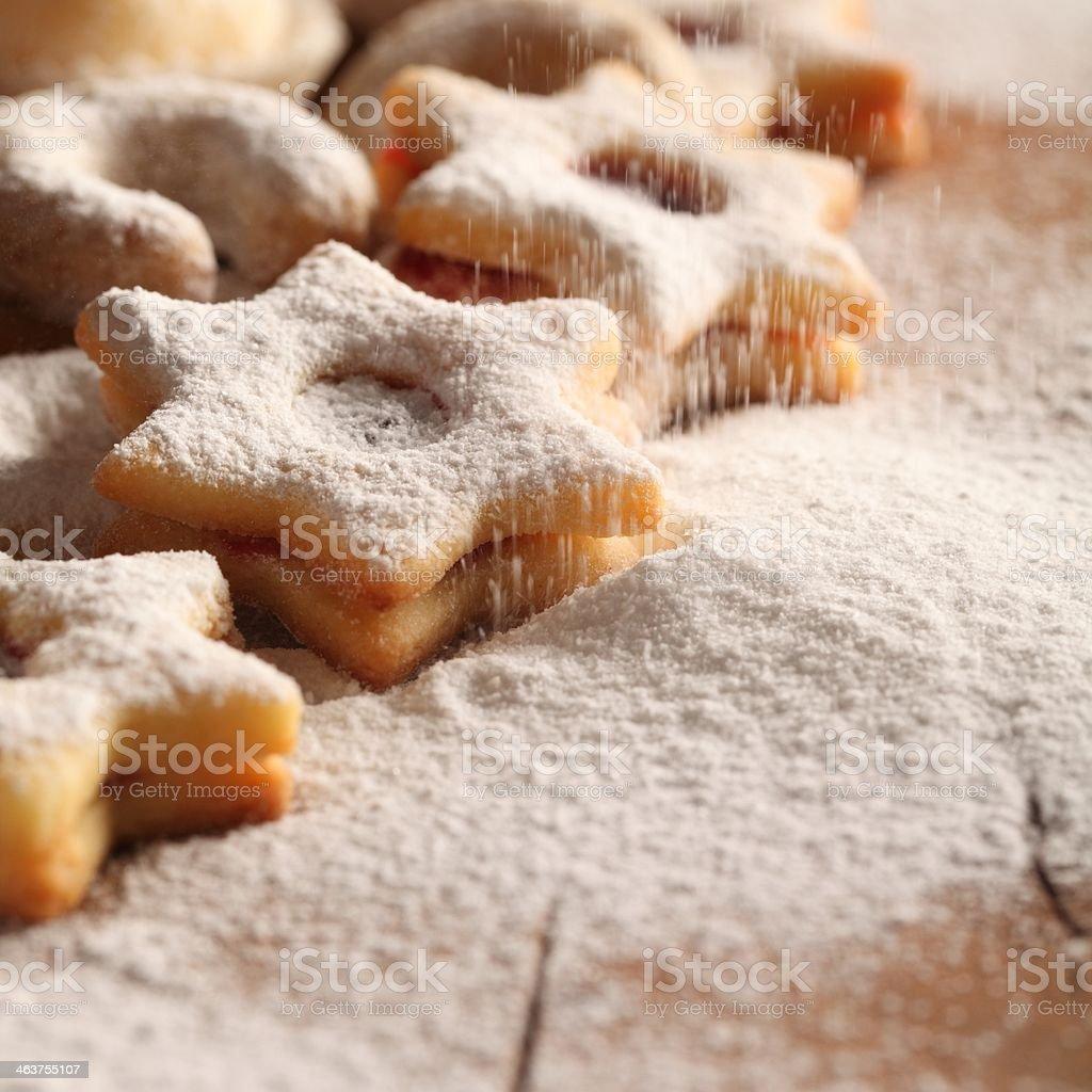 Sweet cookies royalty-free stock photo