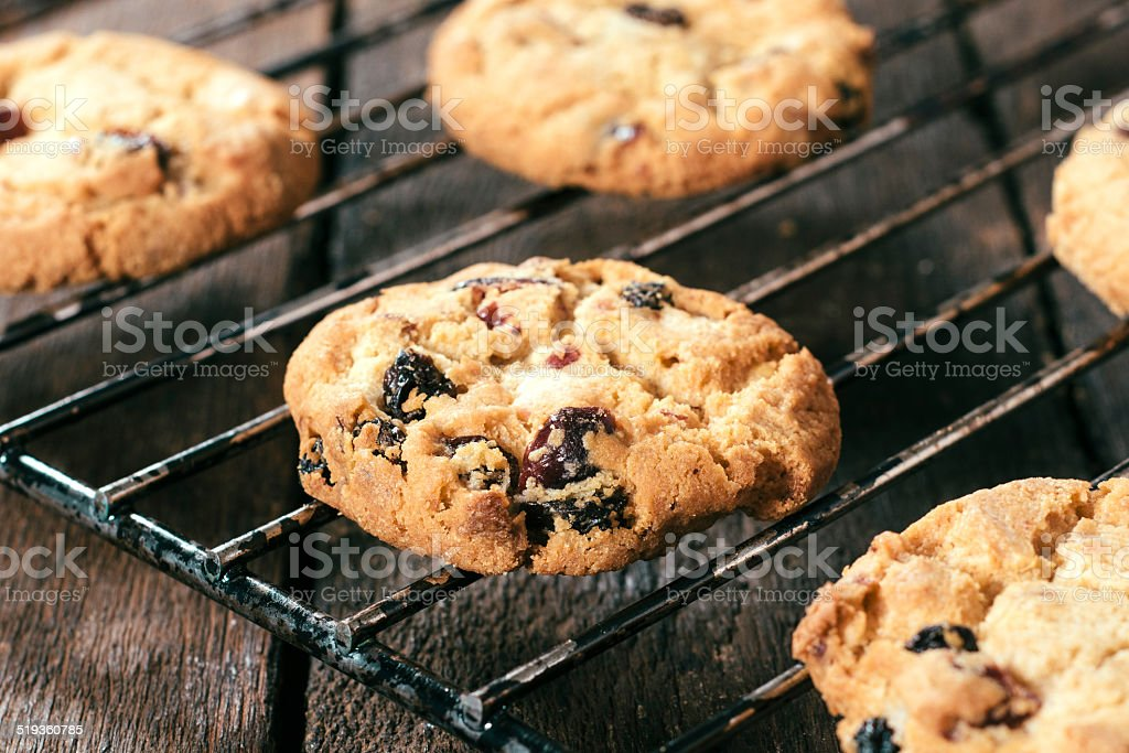 Sweet cookies stock photo