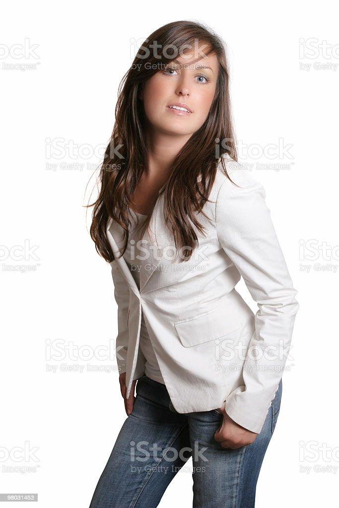 Sweet cute female royalty-free stock photo