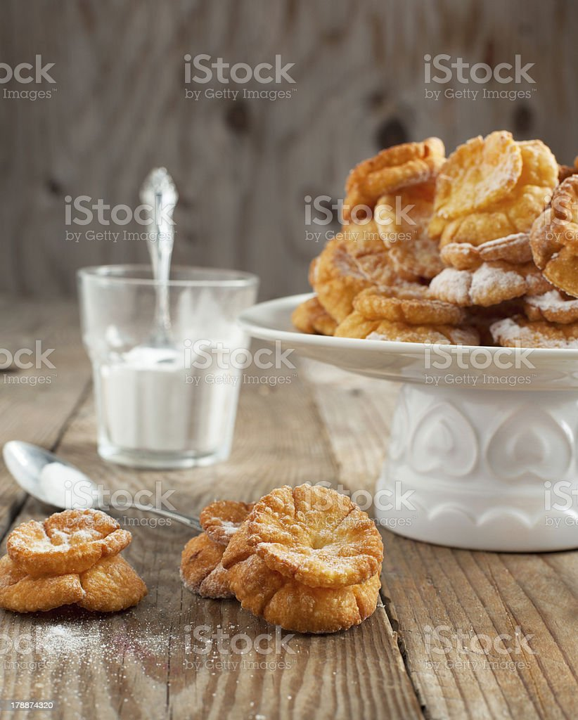 Sweet deep fried pastry royalty-free stock photo