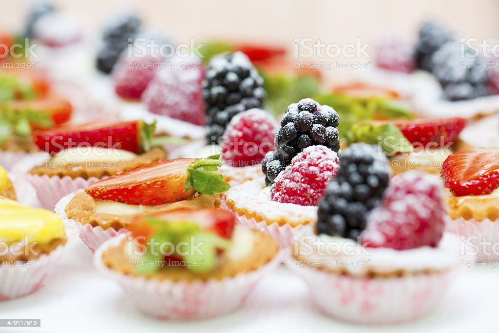 Sweet dessert stock photo