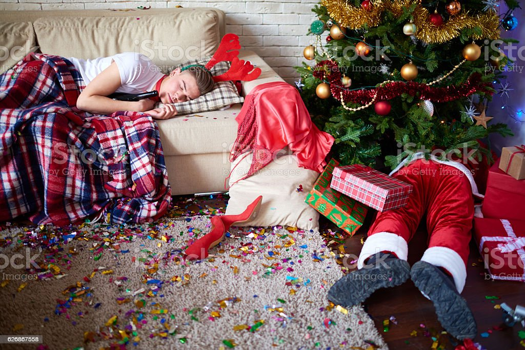 Sweet dreams after Christmas part stock photo